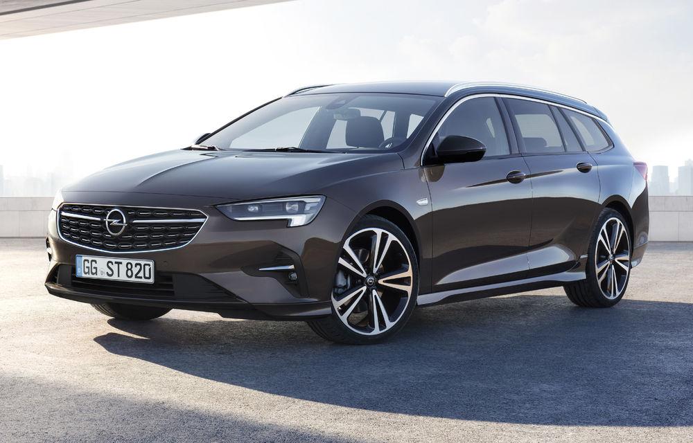 Primele imagini și detalii despre Opel Insignia facelift: modificări minore de design - Poza 2