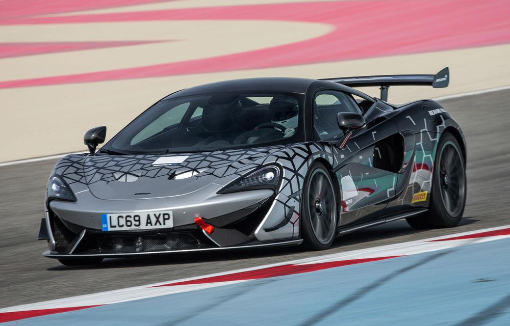 McLaren prezintă 620R: versiunea de stradă a modelului de curse 570S GT4 oferă 620 de cai putere - Poza 2
