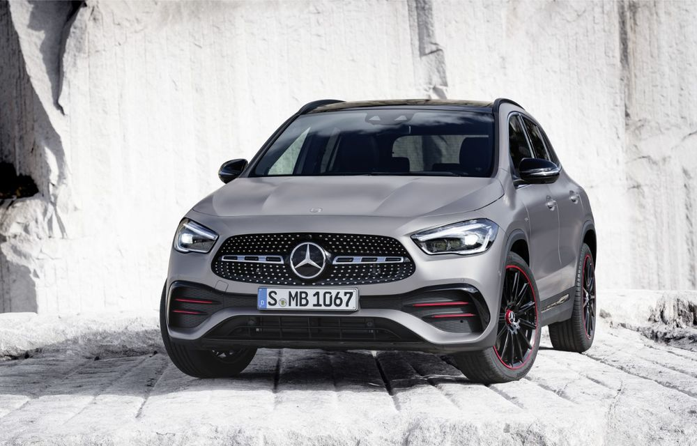 Noua generație Mercedes-Benz GLA: SUV-ul compact are motor de 1.33 litri și 163 CP și versiune AMG de peste 300 CP - Poza 2