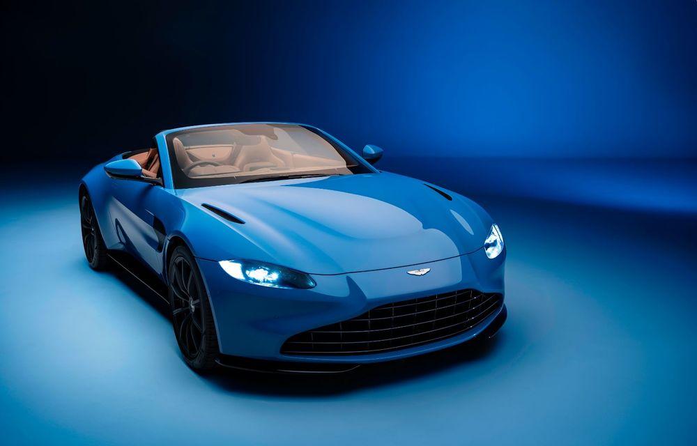 Aston Martin a lansat noul Vantage Roadster: V8 de 510 cai putere, cuplu de 685 Nm și viteză maximă de 306 km/h - Poza 2