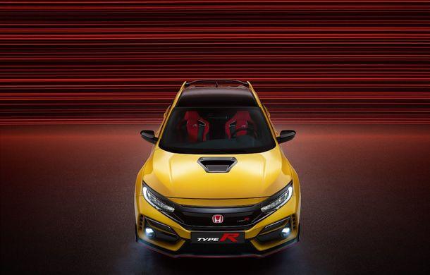 Honda Civic Type R Limited Edition și Sport Line: versiuni noi pentru Hot Hatch-ul nipon cu 320 de cai putere - Poza 2