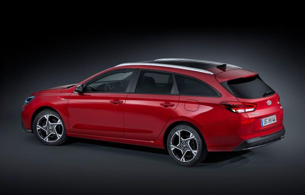 Hyundai a prezentat i30 facelift: modificări estetice, pachet extins de sisteme de siguranță și motorizări mild-hybrid - Poza 2
