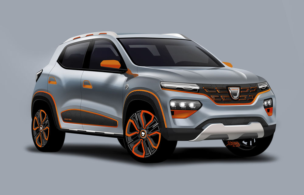 Dacia Spring: prima mașină 100% electrică Dacia va fi lansată pe piață în 2021, cu autonomie de peste 200 de kilometri - Poza 2