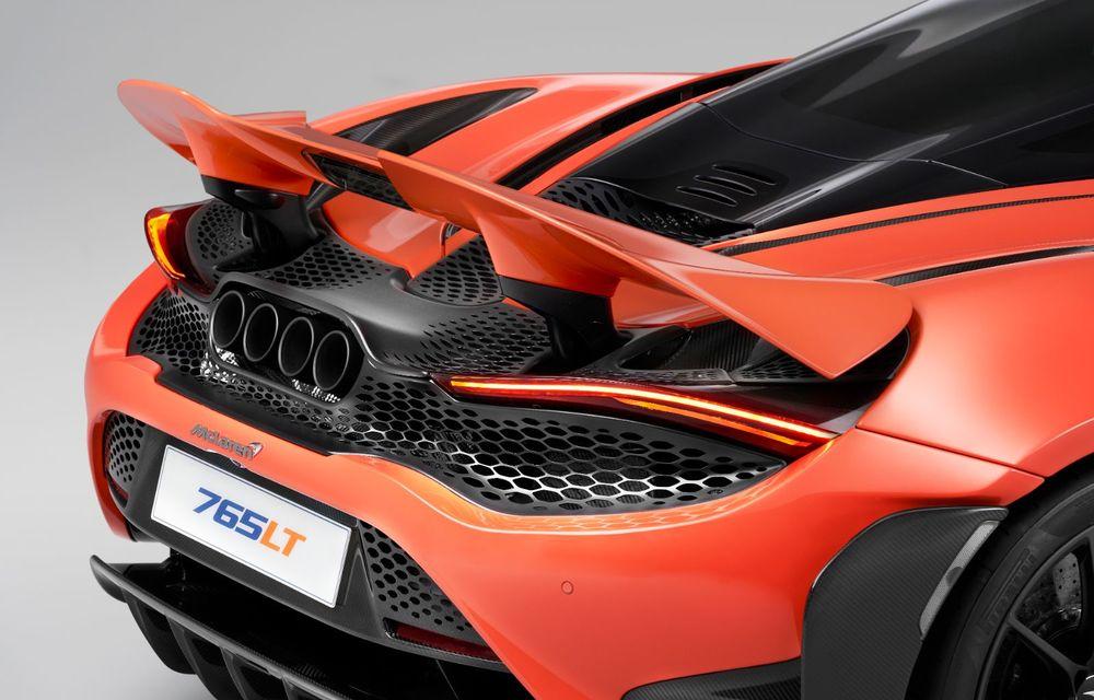 McLaren 765LT: motor V8 cu 765 CP și 0-100 km/h în doar 2.8 secunde - Poza 2