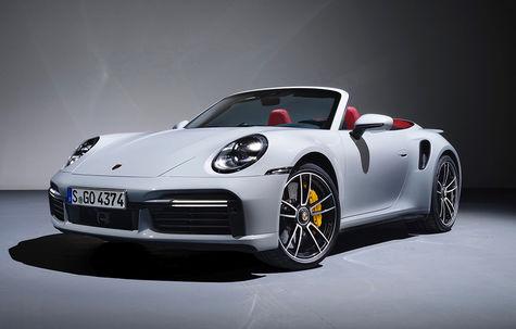 Porsche 911 Turbo S Cabrio