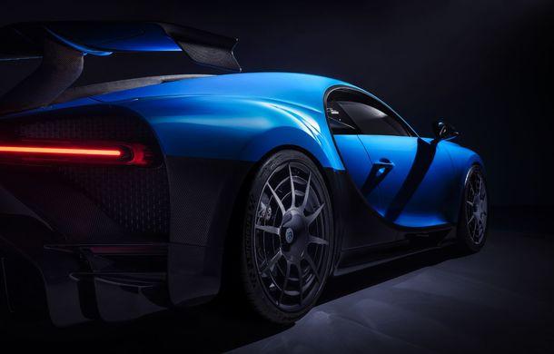 Bugatti a lansat noul Chiron Pur Sport:  versiunea propune suspensii mai rigide și un comportament dinamic îmbunătățit - Poza 2