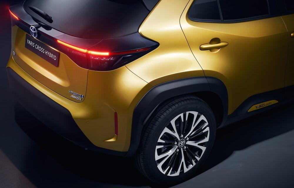 Toyota a prezentat noul Yaris Cross: modelul producătorului nipon are tracțiune integrală și sistem hibrid de propulsie - Poza 2