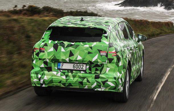 Primele imagini și informații despre Skoda Enyaq iV: SUV-ul electric va avea până la 300 de cai putere și autonomie de până la 500 de kilometri - Poza 2