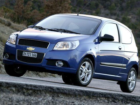 Chevrolet Aveo 3 usi (2008)