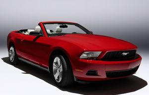 Mustang Convertible (2010)