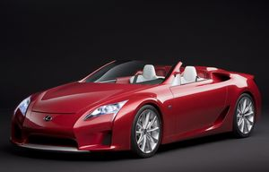 LF-A Roadster Concept