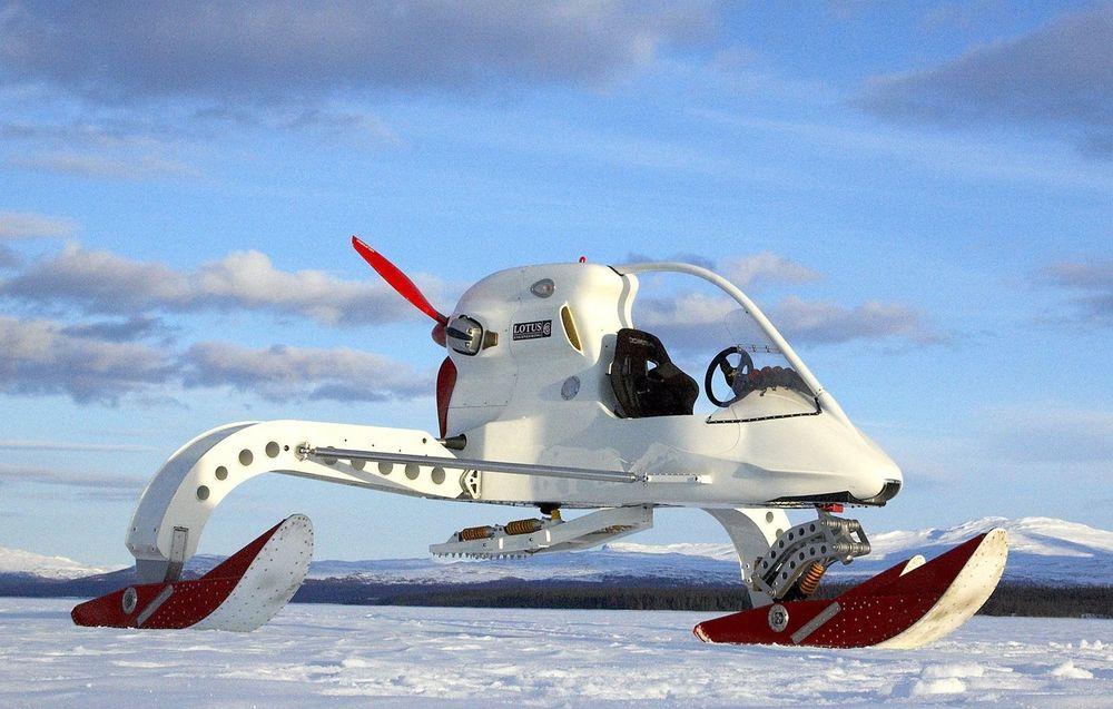 Lotus Ice Vehicle Concept