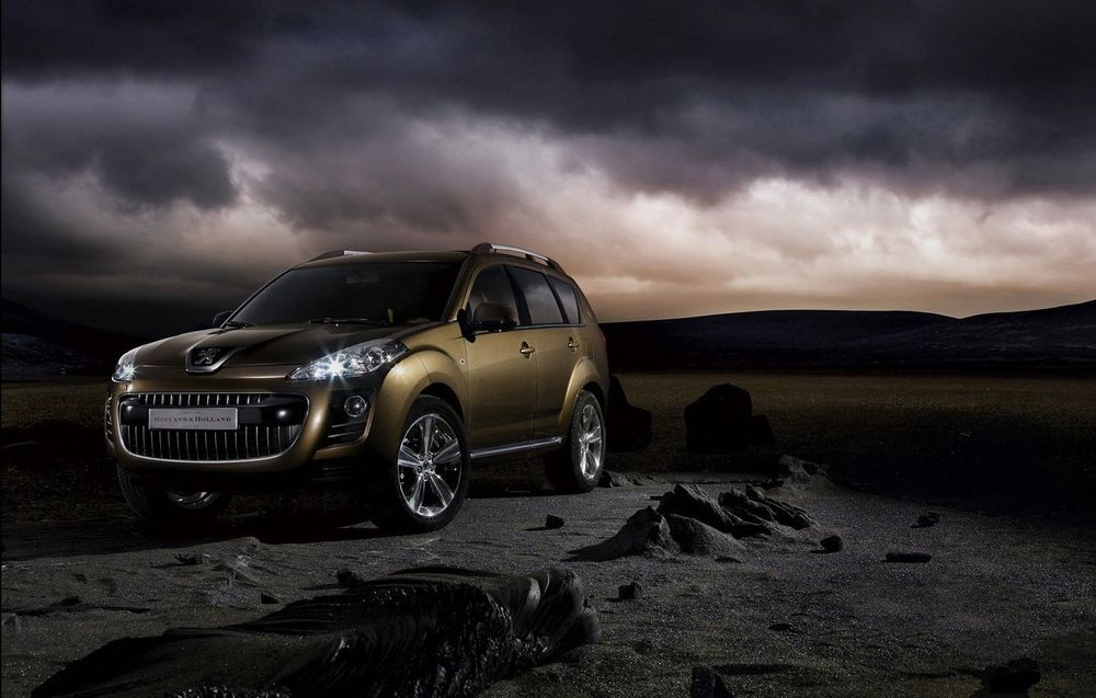Peugeot 4007 Holland and Holland Concept