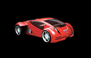 Minority Report Sports Car