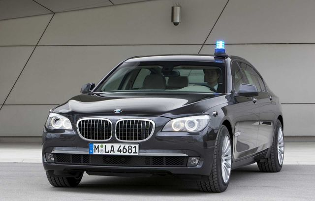 BMW Seria 7 High Security