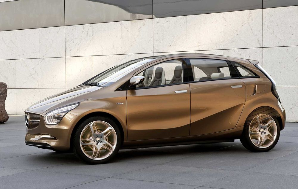 Mercedes-Benz BlueZero E-Cell Plus Concept