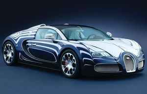 Veyron Grand Sport L'Or Blanc
