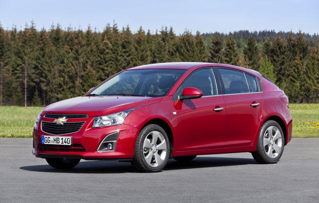 Chevrolet Cruze Hatchback facelift