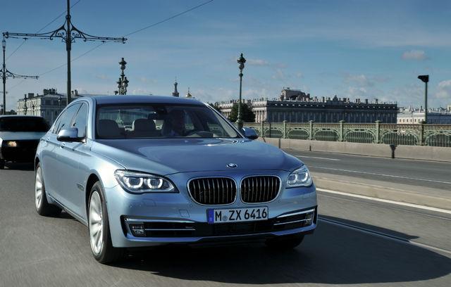 BMW 7 ActiveHybrid facelift