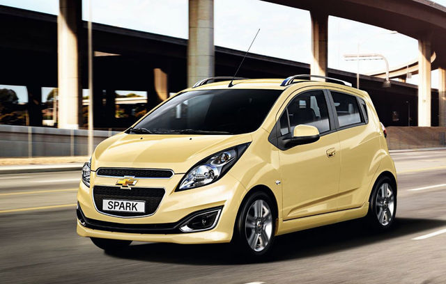 Chevrolet Spark facelift