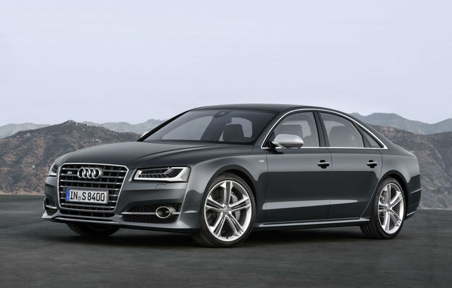 Audi S8 facelift