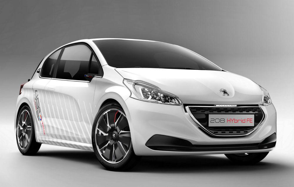 Peugeot 208 Hybrid FE Concept