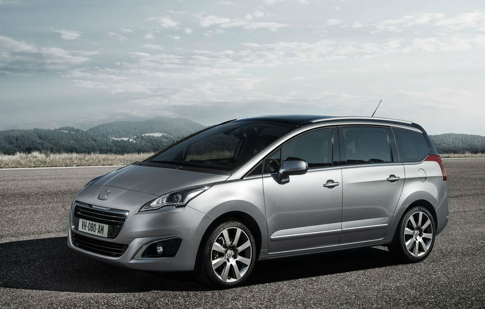 Peugeot 5008 facelift