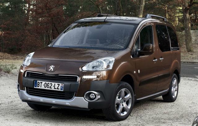 Peugeot Partner Tepee (2014)
