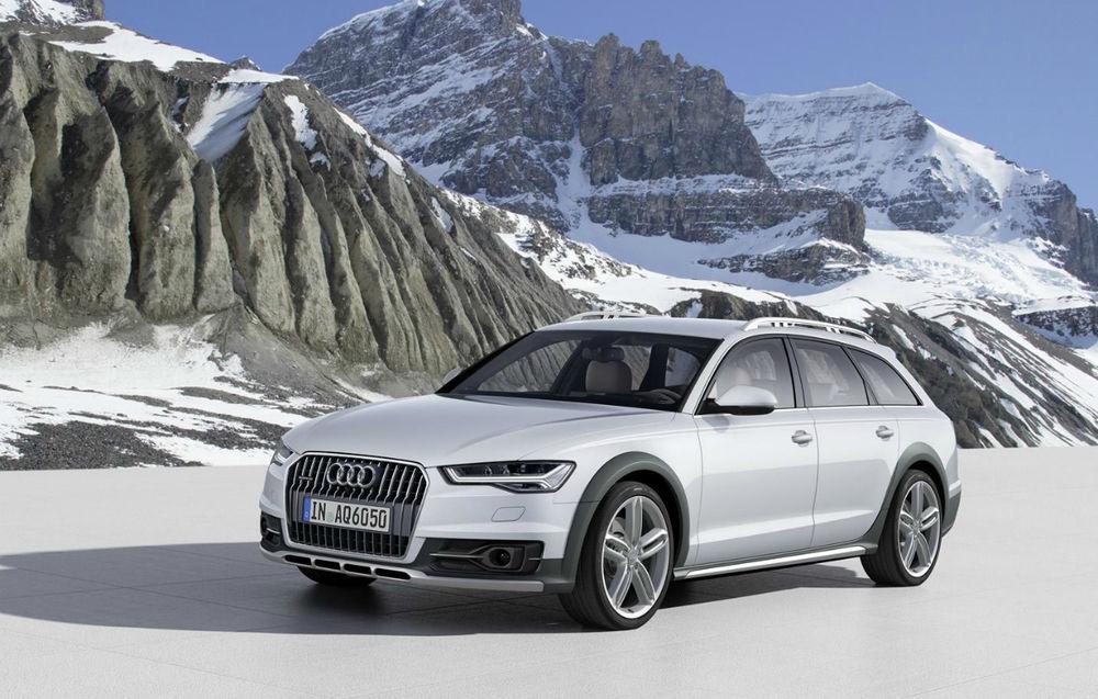 Audi A6 allroad quattro facelift