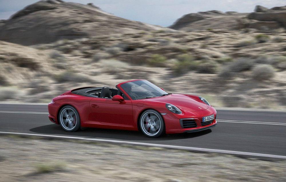 Porsche 911 (991) Cabrio facelift