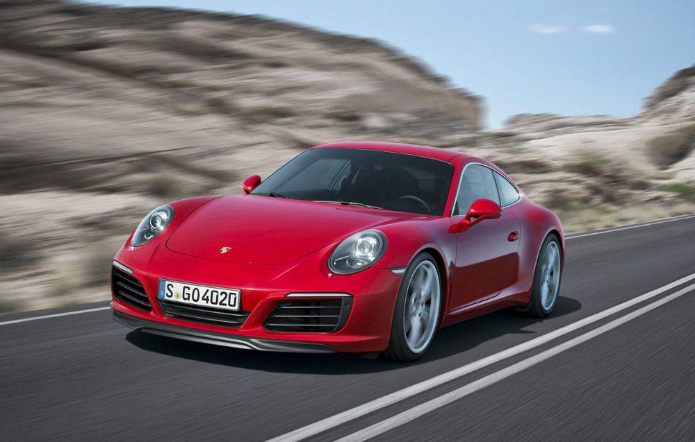 Porsche 911 (991) facelift