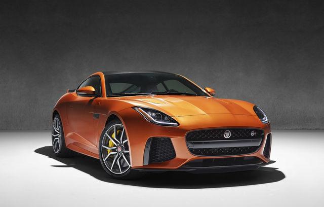 Jaguar F-Type Coupe SVR -