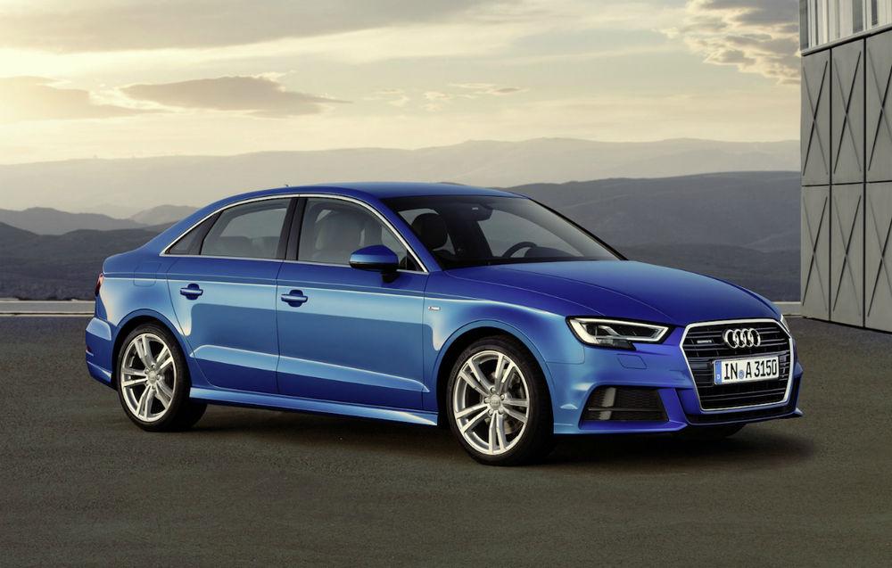 Audi A3 Sedan facelift