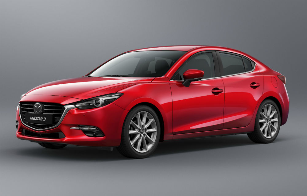 Mazda 3 Sedan facelift