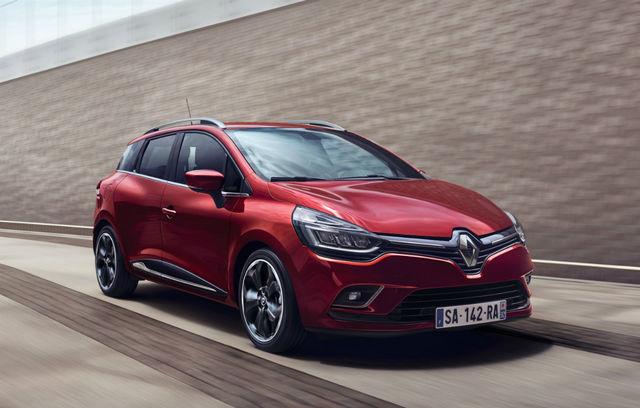 Renault Clio Estate facelift