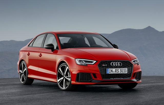 Audi RS3 Sedan facelift