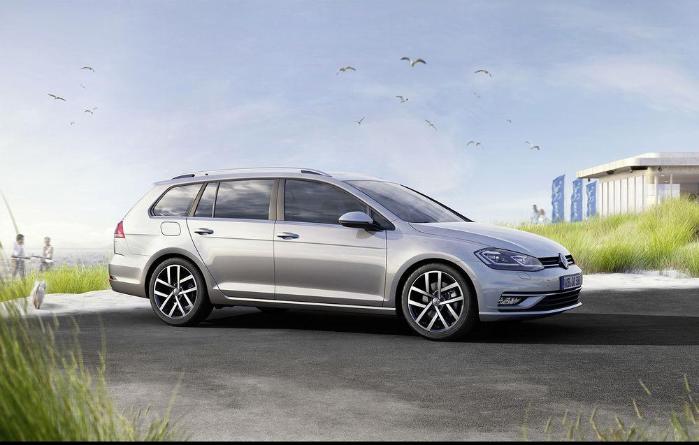 Volkswagen Golf Variant facelift