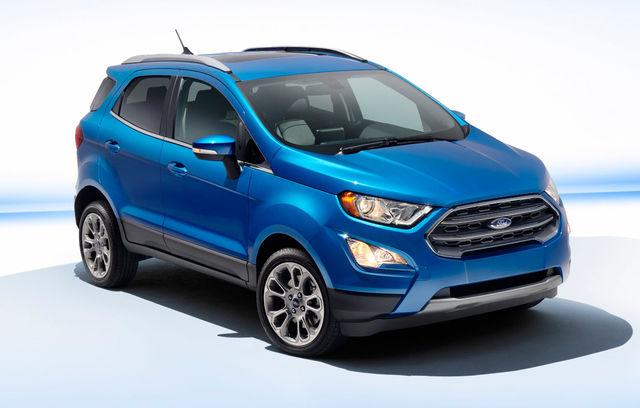 Ford EcoSport 2017 SUA