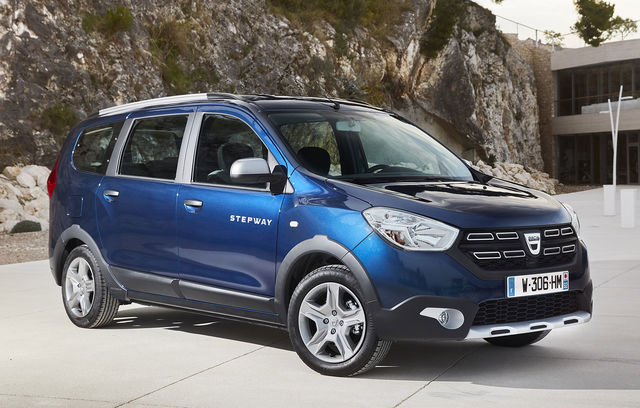 Dacia Lodgy Stepway facelift