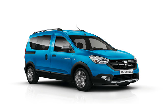 Dacia Dokker Stepway facelift