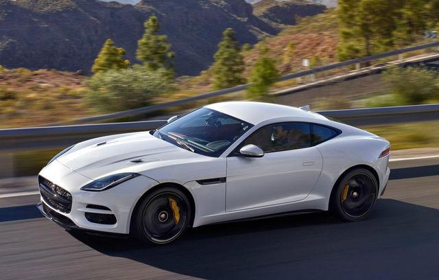 Jaguar F-Type Coupe facelift