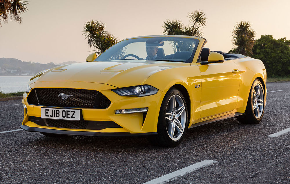 Ford Mustang Convertible facelift