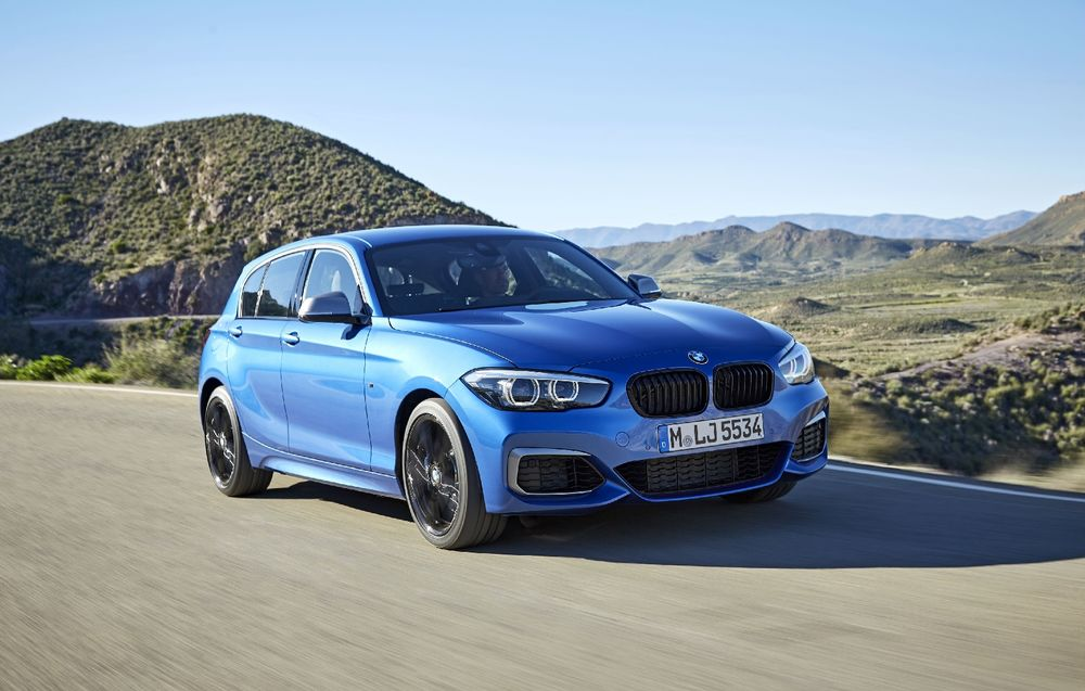 BMW Seria 1 (5 usi) facelift