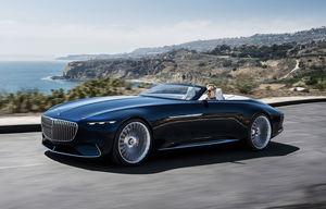 Vision Mercedes-Maybach 6 Cabrio Concept