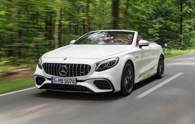 Mercedes-Benz Clasa S Cabrio facelift