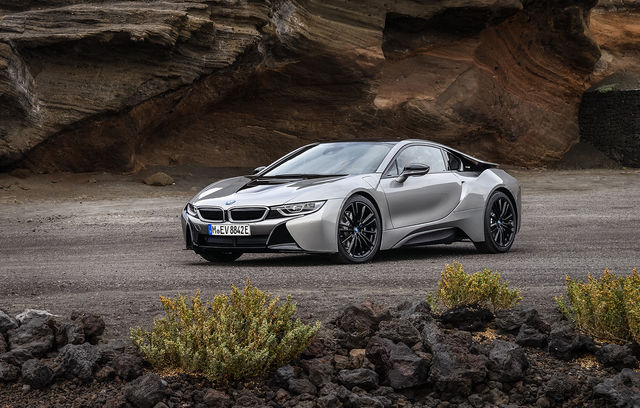BMW i8 facelift