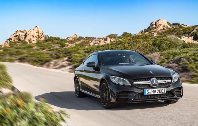 Mercedes-Benz Clasa C Coupe facelift