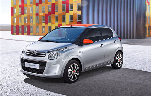 Citroen C1 facelift
