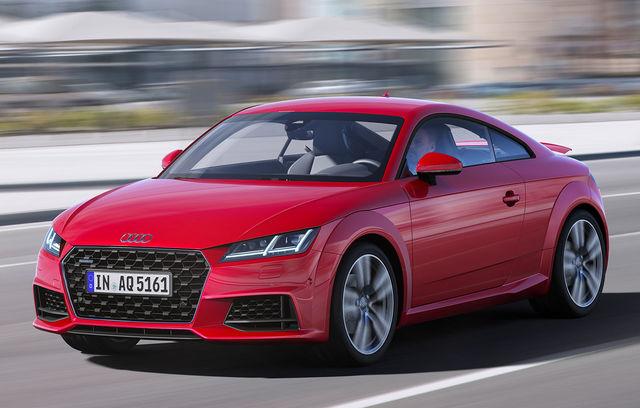 Audi TT Coupe facelift