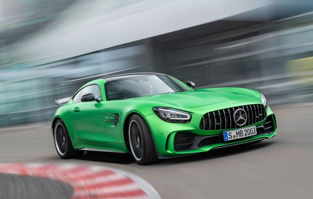 Mercedes-Benz AMG GT facelift